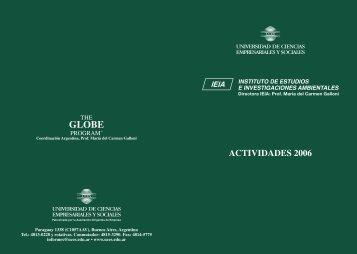 ACTIVIDADES 2006 - UCES
