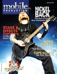 volume 2 issue 4 2009 - Mobile Production Pro
