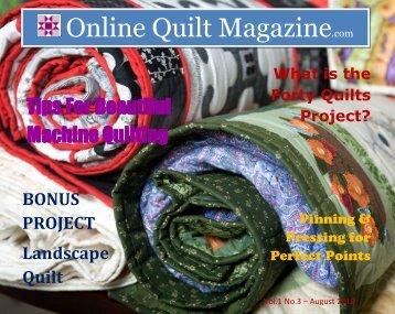 Online Quilt Magazine.com