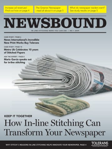How In-line Stitching Can Transform Your Newspaper - Tolerans