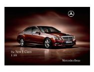 Microsoft PowerPoint - E 300 brochure.ppt - Mercedes-Benz Indonesia