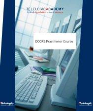 DOORS Practitioner Course