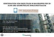 IDENTIFIKATION VON EINZELTEILEN IN BAUGRUPPEN PER 3D- SCAN UND ...