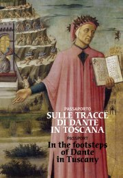 Passport In the footsteps of Dante in Tuscany IT ENG - Palazzo Strozzi