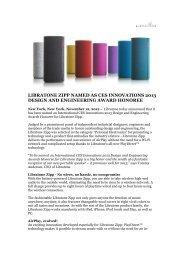 libratone zipp named as ces innovations 2013 design and ...