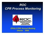 ROC CPR Process Monitoring