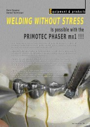 WELDING WITHOUT STRESS - primotec