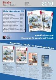 Fachverlag für Verkehr und Technik www.kirschbaum.de