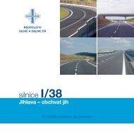 Silnice I/38 Jihlava – obchvat jih - Ředitelství silnic a dálnic