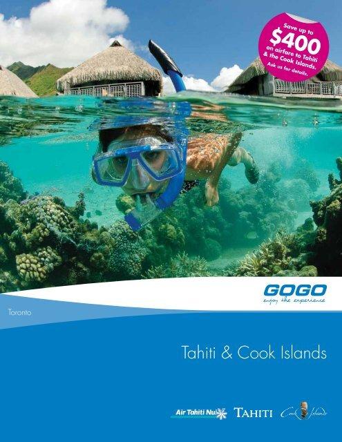 Tahiti & Cook Islands - GOGO Worldwide Vacations