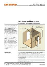 TVS Door Locking System - DICTATOR
