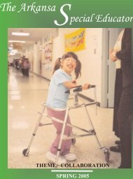 spring 05.qxp - ADE Special Education