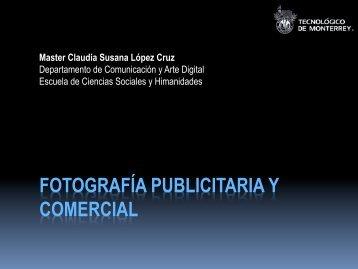 FOTOGRAFÍA PUBLICITARIA Y COMERCIAL - Inicio