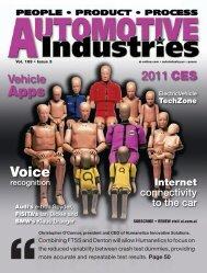 2011 CES - Automotive Industries