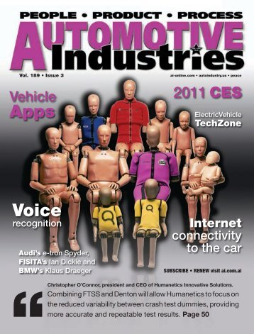 2011 CES - Automotive Industries