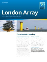 December 2011 - London Array