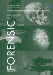Handbook of Forensic Services (pdf) - FBI