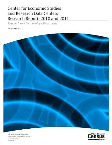 2010 and 2011 - Census Bureau