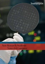 New Research Students Notes for Guidance - Electronics and ...
