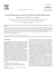 Jacobi galerkin spectral method for cylindrical and spherical - NTNU