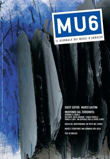 GUEST EDITOR: MARCO GASTINI MUOVENDO DAL ... - MU6