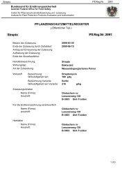 Strepto PFLANZENSCHUTZMITTELREGISTER Pfl.Reg.Nr ... - AGES