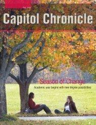 Season of Change - Capitol College
