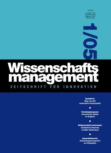 Heft 1/2005 - Lemmens Medien GmbH