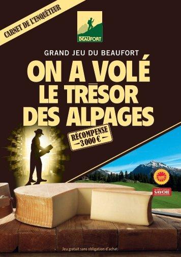 Télécharger le Carnet au format PDF - Grand Jeu du Beaufort - on a ...
