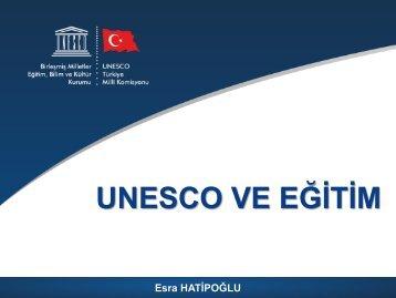 PowerPoint Sunusu - Unesco