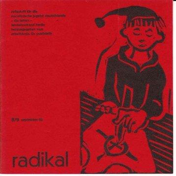 radikal 8/9 September 1965
