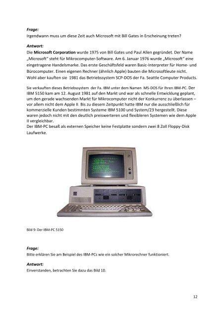 Eine kleine Geschichte der Rechentechnik
