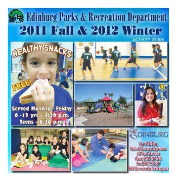 2011 Fall & 2012 Winter - City of Edinburg