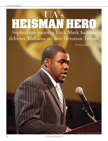 HEISMAN HERO - Indian River Magazine