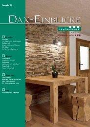 Ausgabe 08 - SCHREINEREI DAXENBERGER   Schreinerei ...