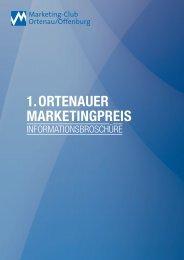 1. ortenauer marketingpreis - Marketing-Club Ortenau/Offenburg
