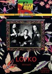 Katalog nr 22 - Velkommen til Etnisk Musikklubb