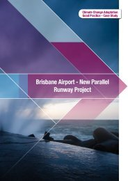 Brisbane Airport - New Parallel Runway Project - National Climate ...