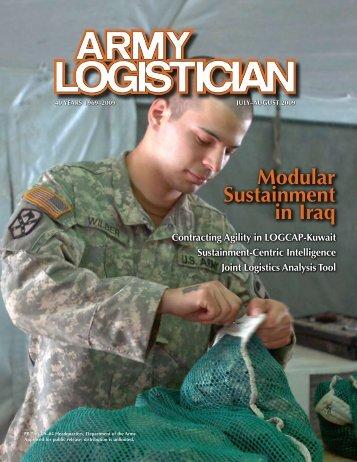 Modular Sustainment in Iraq - Army Logistics University - U.S. Army