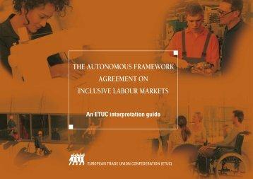 ETUC interpretation guide