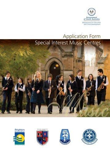 Music Application - Brighton Secondary School