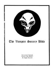 4 The Vampire Sorcery Bible.pdf - End Time Deception