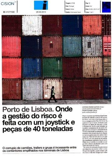 """""""i"""" PARA LER NA ÍNTEGRA - Associação dos Portos de Portugal"""
