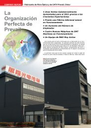 La Organización Perfecta de Prevail - TELE-satellite International ...