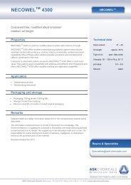 NECOWEL 4300 - ASK Chemicals