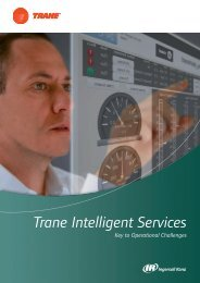 Trane Intelligent Services