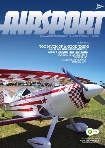 June 2012 - Sport Aircraft Association of Australia