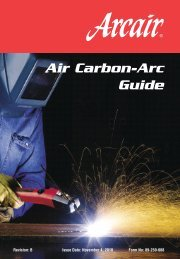 Air Carbon-Arc Guide - Rapid Welding and Industrial Supplies Ltd