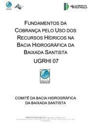 Fundamentos da Cobrança pelo Uso dos Recursos Hídricos na ...
