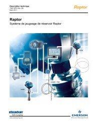 Raptor - Rosemount TankRadar